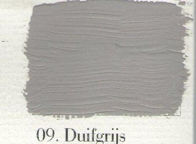L'Authentique: Krijtverf 09 Duifgrijs
