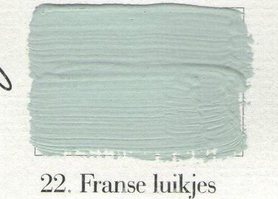 L'Authentique: Krijtverf 22 Franse Luikjes