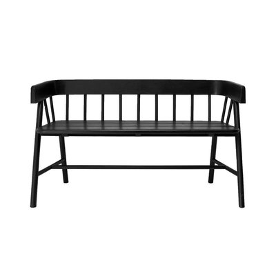 HKLiving garden bench black