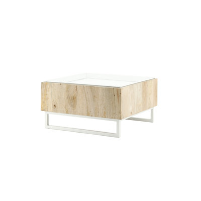 By Boo: Salontafel Hopper - Wit
