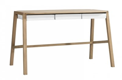 Ethnicraft Verso desk oak white