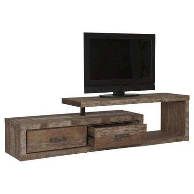D-Bodhi Soul TV meubel, 2 laden links, 1 open vak