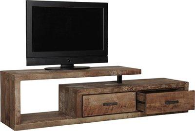 D-Bodhi Soul TV meubel, 2 laden rechts, 1 open vak