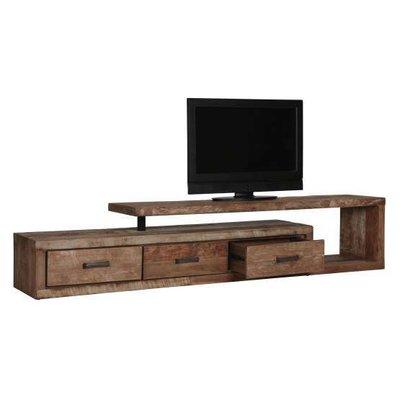 D-Bodhi Soul TV meubel, 3 laden links, 1 open vak