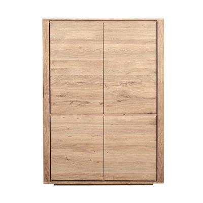 Ethnicraft oak storage cupboard Shadow 4 doors