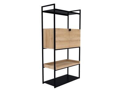 Ethnicraft Cell unit storage cupboard oak