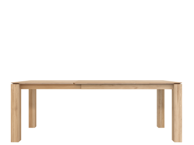Ethnicraft Slice extendable dining table oak