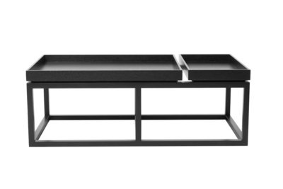 Norr11 Tray coffee table black