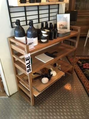 Sale Showmodel skelet rack teak