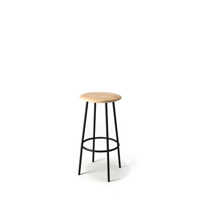 Ethnicraft Baretto bar stool oak
