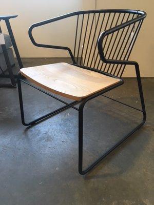 Sale Showmodel Ethnicraft Gabbia chair set van 2