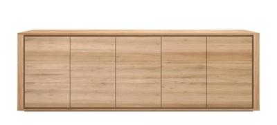 Ethnicraft Shadow 5 deurs dressoir oak
