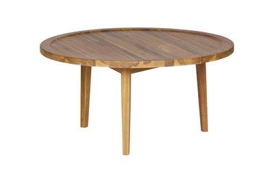 VTWonen Sprokkeltafel hout naturel 40x80x80 cm