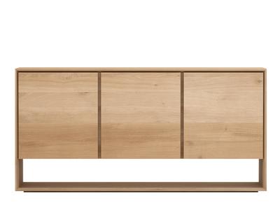 Ethnicraft Oak Nordic Sideboard 3 deurs