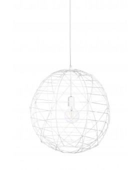Bodilson Fireball hanglamp wit