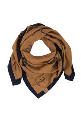Zusss frivole sjaal camel