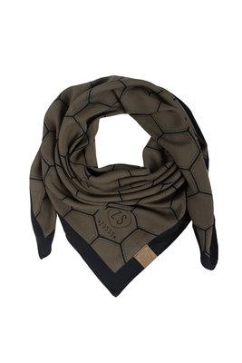 Zusss frivole sjaal groen