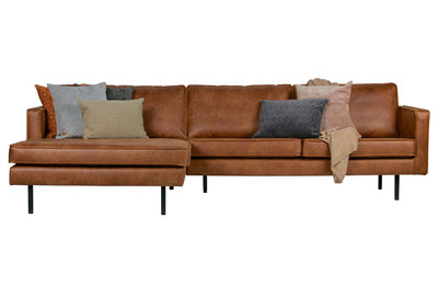 BePureHome Rodeo chaise longue bank links cognac