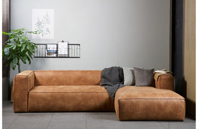 WOOOD Bean corner sofa links of rechts