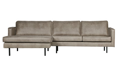 BePureHome Rodeo chaise Lounge Links elephant skin