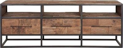 D-Bodhi Urban tv meubel 3 laden 3 open vakken 150cm