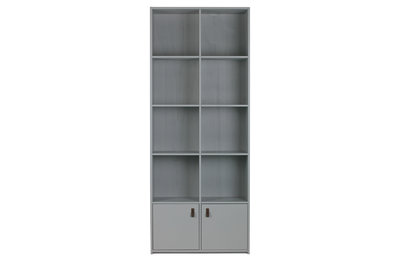 Vt wonen Bookcase grenen geschuurd betongrijs