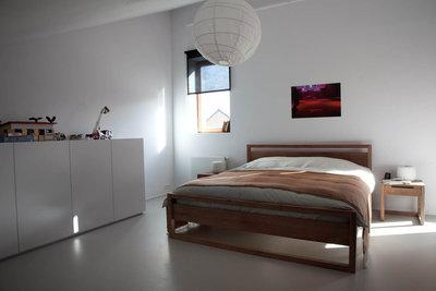 Ethnicraft : Light Frame teak bed