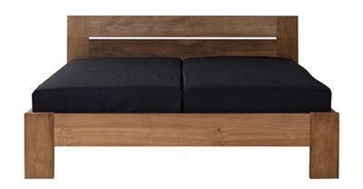Ethnicraft : Horizon/ Azur teak bedroom bed