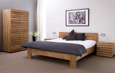 Ethnicraft : Horizon teak bedroom kledingkast