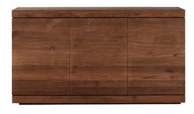 Ethnicraft: Burger Teak Sideboard, 3 doors