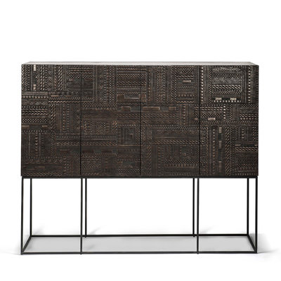 Ethnicraft Ancestors Tabwa sideboard high 4 doors 4 drawers