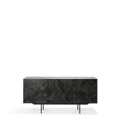 Ethnicraft Graphic sideboard 3 doors