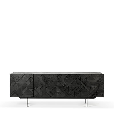 Ethnicraft Graphic sideboard 4 doors