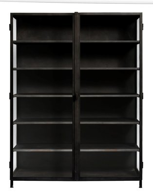 Muubs glass iron cabinet 20