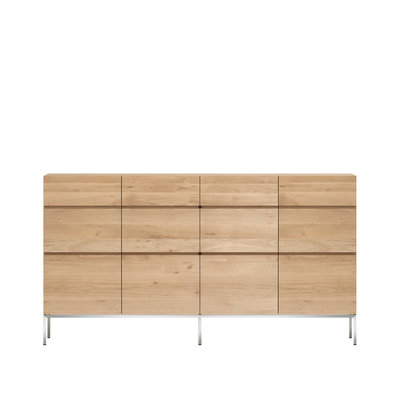 Ethnicraft Oak Ligna sideboard high