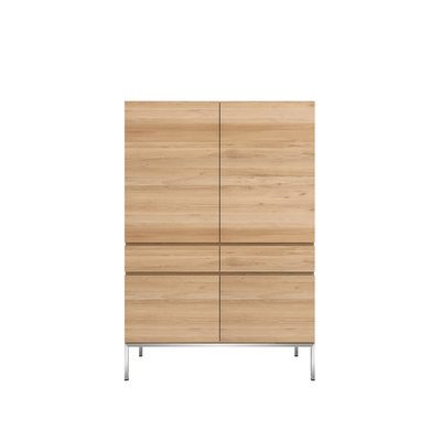 Ethnicraft Ethnicraft Oak Ligna storage cupboard
