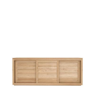 Ethnicraft Pure sideboard 3 sliding doors oak
