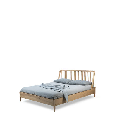 Ethnicraft oak Spindle bed 160-200