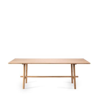 Ethnicraft profile dinning table oak 180cm