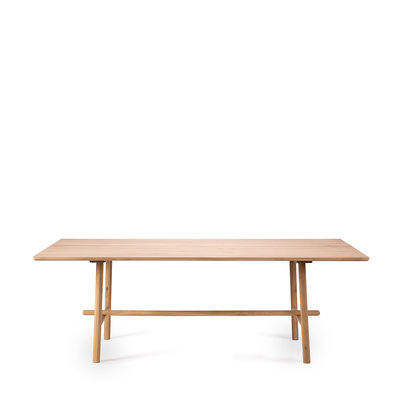 Ethnicraft profile dinning table oak 200cm