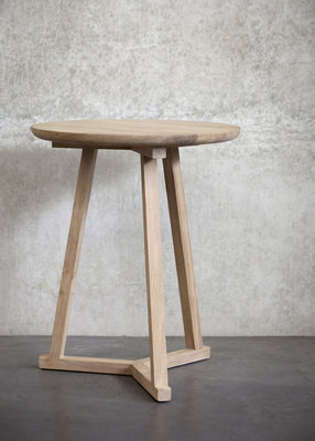 Ethnicraft Tripod table eiken 46