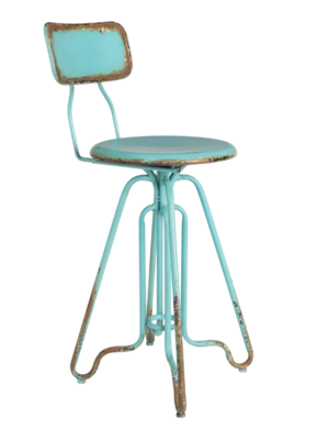 Ovid counter stool ocean