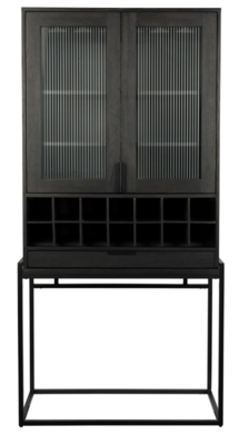 Travis cabinet black oak