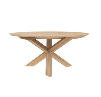 Ethnicraft Circle dining table oak