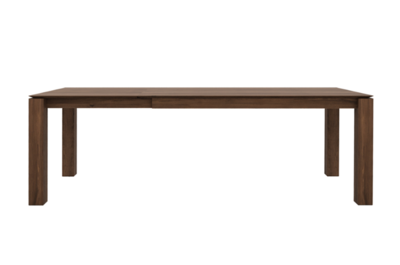 Ethnicraft Slice Extendable dining table walnut