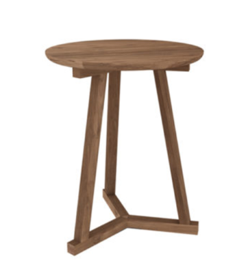 Ethnicraft Tripod side table teak
