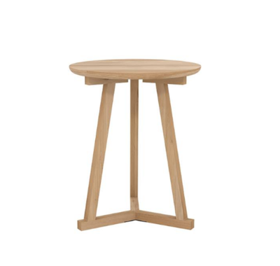 Ethnicraft Tripod side table oak