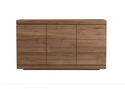 Ethnicraft Burger sideboard teak 3 doors