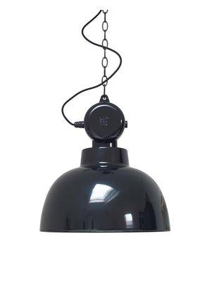 HK Living Factory lamp M zwart
