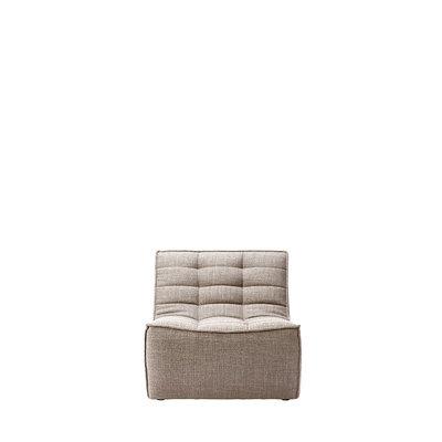 Ethnicraft N701 sofa -1 seater- Beige